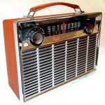 General Electric )780 transistor radio, 1958